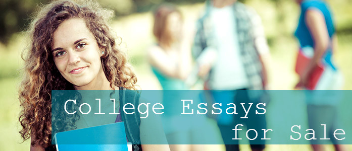 College essays for sale